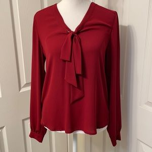 Beautiful blouse maroon color mossimo brand